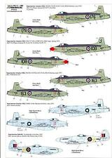 Xtra Decals 1/48 SUPERMARINE SPITEFUL & SUPERMARINE ATTACKER