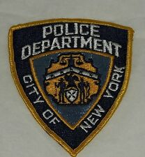Badge écusson insigne POLICE DEPARTMENT CITY OF NEW YORK - USA