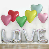 10PCS Macaron Colored Latex Balloons 12 Inches Heart Shaped Party Balloons Hot C