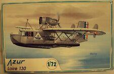 Azur 1/72 Loire 130 French Seaplane WWII W/Photo-Etch Kit #004 Very Nice
