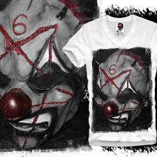 Kurzarm Herren-T-Shirts mit V-Ausschnitt und Vader