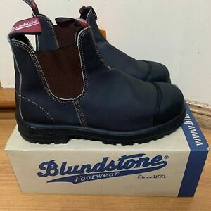 Blundstone 903 Work Safety Boots Premium Leather AU9 US10 Stout Brown