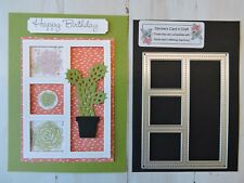 Craft Metal Die compatible with both Cuttlebug or Sizzix -  Display Frame