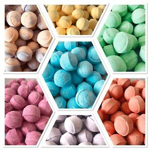 BUY 2 GET 1 FREE OFFER-MINI BATH MARBLES FIZZES/BOMBS HOME SPA MANICURE PEDICURE