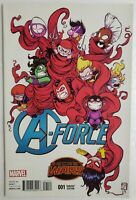 💥 A-FORCE #1 YOUNG VARIANT 1ST APP TEAM & SINGULARITY MARVEL MOVIE?? AVENGERS💥