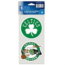 Boston Celtics Car Window Decal 4 Inch Decal Set