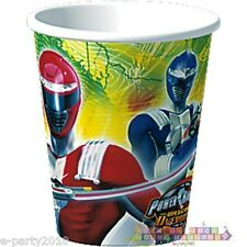 POWER RANGERS Operation Overdrive 9oz Paper CUPS (8) ~ Birthday Party Supplies