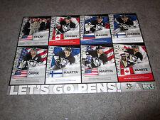 Pittsburgh Penguins 2014 SOCHI OLYMPICS Promotional Poster Crosby Malkin Orpik +