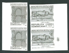 UPAEP DOMINICAN Imperforate Pair Mint 2001