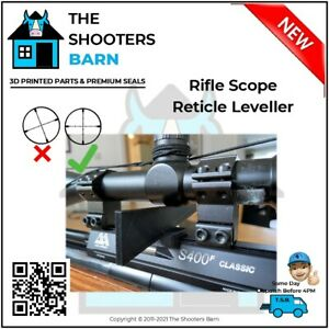 Anti-Cant Quick Set Rifle Scope Reticle Leveller Device fits gaps 13-28mm New