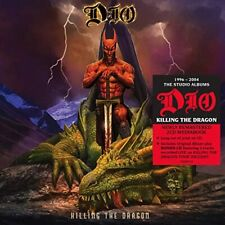 DIO CD - KILLING THE DRAGON [2 DISCS](2020) - NEW UNOPENED - ROCK METAL
