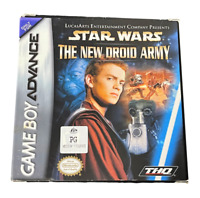 Star Wars The New Droid Army Nintendo Gameboy Advance GBA *Complete* Boxed