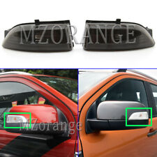 Smoked Left Right Rearview Wing Mirror Light Lamps For Ford Everest Ranger T6 PX