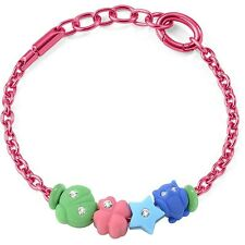 Bracciale Morellato Collezione Drops Colours art.SABZ166 Alluminio rosa 4 charm