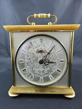 Bel VDO Quarzo tempo stupendo orologio da tavolo marmo/OTTONE TABLE CLOCK Marble/Brass