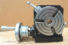 """4"""" / 100 mm PRECISION ROTARY TABLE HV4 FOR MILLING MACHINE"""