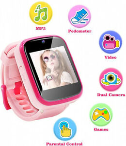 Yehtta Kids Smart Watch Toys for 3-8 Year Old Girls Toddler Watch HD Dual