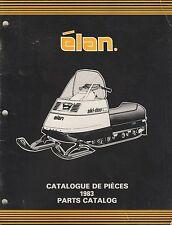 1983 Ski-Doo Elan Snowmobile Parts Manual 480 1166 00 (576)