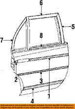 Dodge CHRYSLER OEM 84-89 Diplomat Exterior-Rear-Side Molding 4106328