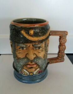Capodimonte 1970 Vintage Italy Face Mug - Hand Painted
