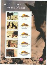 Namibia - Wilde Pferde - Wild Horses Kleinbogen 2019 postfrisch ** UHM