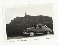 91104 ANTICA FOTO FOTOGRAFIA CON AUTO D' EPOCA OLD CAR