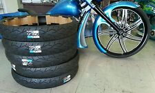 harley vee rubber monster 140/40/30 tire street glide road king ultra classic 30