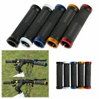 Locking Rubber Bicycle Handle Bar Cycling Handlebar Double Lock Bike Grips