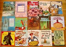 Lot 26 FAIRY TALES Traditional, Fractured & Multicultural Picture Books L2