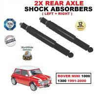 REAR LEFT + RIGHT SHOCK ABSORBERS SET for ROVER MINI 1000 1300 1991-2000