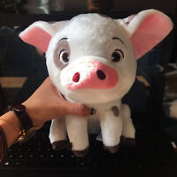 2019 New Disney Moana Wailea Maui Pet Pig Pua Plush Toy 10'' Gifts Xmas Birthday