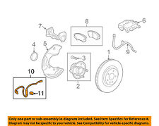 Chevrolet GM OEM 10-15 Camaro Anti-lock Brakes-Wheel speed sensor 92199861