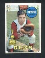 1969 Topps #95 Johnny Bench VG/VGEX Reds 125043
