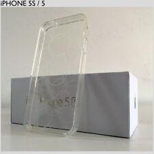 Blanco Elegante Ultra delgada iPhone SE, 5S 5 caso claro cubierta de moda patrón de círculo