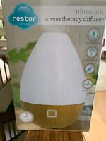 Restor Ultrasonic Aromatherapy diffuser 8 hours streaming mist