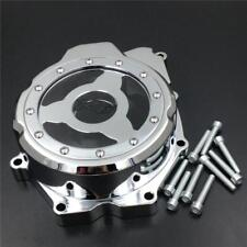 Chrome Left Stator Engine Cover See through YZF-R6 2009 For Yamaha 2006-2014