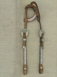 DALE CHAVEZ WESTERN BLING SHOW HEADSTALL