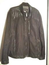 Guess?, Inc Men's Faux Moto Leather Jacket - XXL