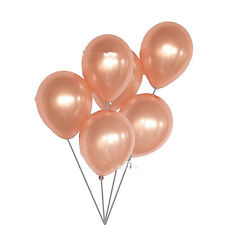 """5Pcs Rose Gold 12"""" Latex Balloons Birthday Wedding Party Supplies Decorations"""