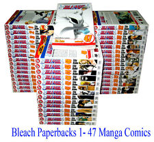 Bleach Manga Comics Books Set - 1-47 Brand New Paperbacks (Viz Media)- (English)