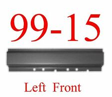 99 15 Left Front Rocker Panel, Ford Super Duty Extended Cab & Crew Cab Trucks