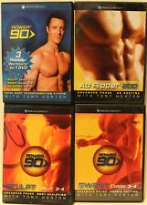 4 Tony Horton workout fitness DVD original power 90 set sculpt ab ripper 200