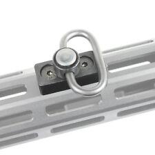 Hunting Heavy Duty 1.25 M-lok Sling Mount Push Button QD Sling Swivel Adaptor