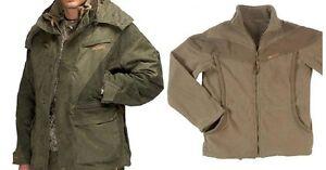 Hillman Highlander Jacket in Green and fleece bundle Stalking Shooting Fishing