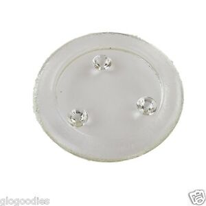 9cm Diameter Round Mottled Glass Candle Stand - Pillar Candle Holder