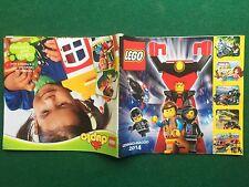 (Q27) LEGO CATALOGO GENERALE Gen/Mag 2014 HOBBIT STAR WARS Brochure KATALOG