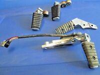 Yamaha Virago XV 750 XV750 1100 Foot Peg rear set rest bracket rectifier 88-1998