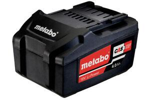 Metabo Batteria 18V 4,0 Ah Li-Power 625591000