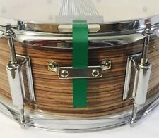 Snare Flair Drum Strap Percussion Emerald Green USA Made SnareFlair Straps