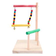 Bird Playground Birdcage Playstand Parrot Play Swing Parakeet Cage Decor